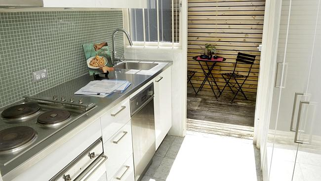 Everything a city slicker needs; this kitchen has all the mod cons according to owner and agent. Picture: John Appleyard
