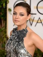 Golden Globes 2014 red carpet arrivals at the Beverly Hilton: Mila Kunis. Picture: Getty