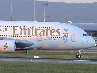 Airbus A380 arrival