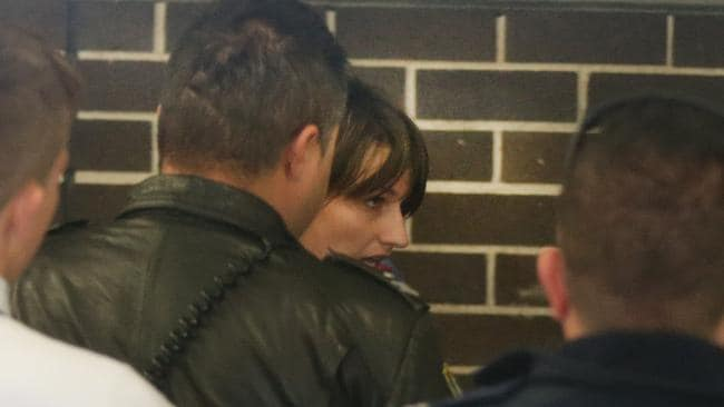 Harriet Wran arrives at Liverpool Court after being charged in relation to murder of Daniel McNulty. Picture: Cameron Richardson.