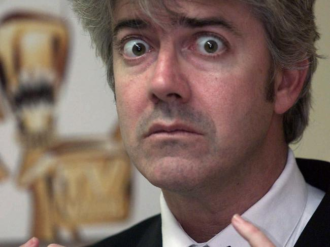 Shaun Micallef before hosting the Logies in 2001. Picture: Richard Cisar-Wright