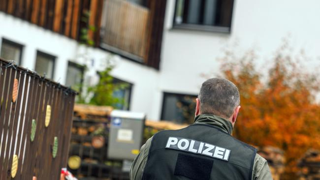 An anti-government extremist opened fire on police in southern Germany during a raid in which they had planned to confiscate his weapons, wounding four officers, authorities said.