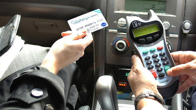 Paying your taxi fare by Cabcharge card whacks on a 10% surcharge. Picture: Supplied