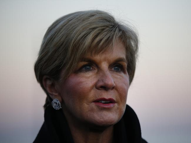 Pressure is mounting on Julie Bishop to remove Ms Abdel-Magied from a DFAT committee. Picture: AP Photo/Emrah Gurel