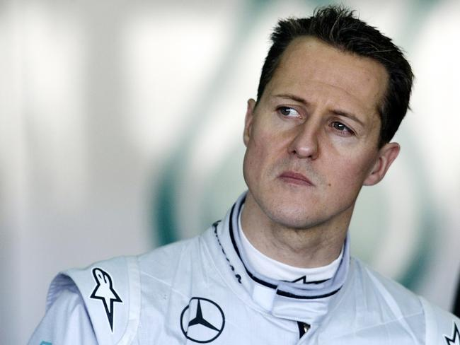 German driver Michael Schumacher pictured in 2010.
