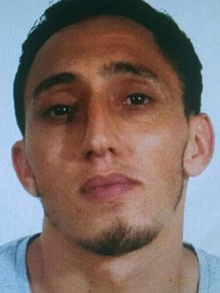 Driss Oukabir, alleged terrorist. Picture: AFP/Spanish National Police