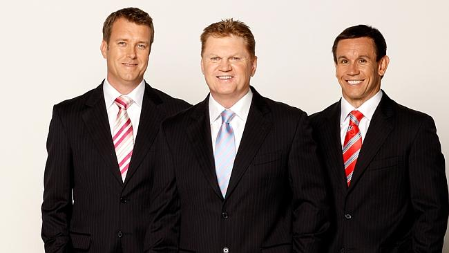 Perhaps the Footy Show hosts should stick to, y'know, footy?