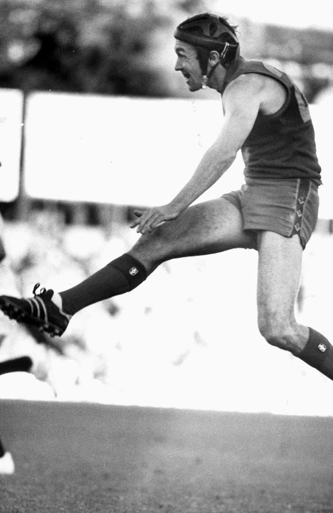 Fitzroy rover Garry Wilson dominated the 1980s. Picture: Herald Sun File