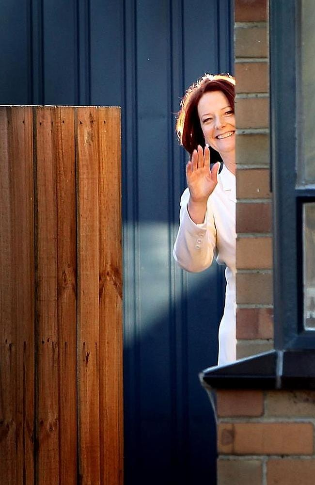 Julia Gillard is one of the former prime ministers creating a diplomatic traffic jam in Washington.