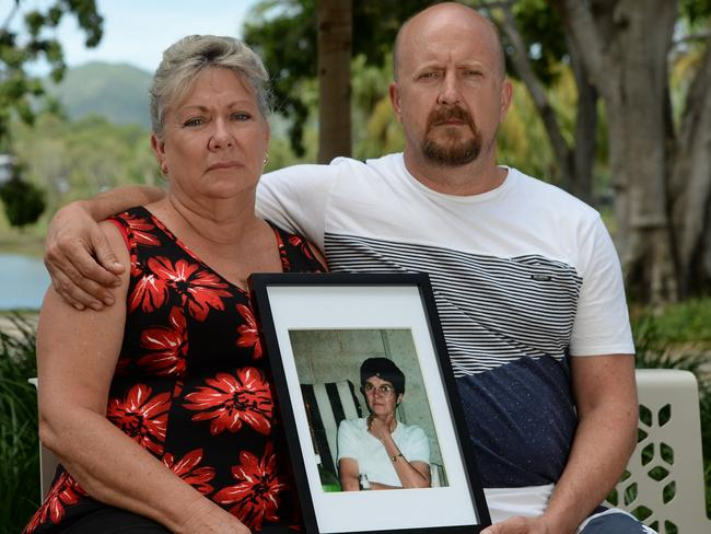 Niece Kerry Rothery and son Mick Valigura noticed their family member's coffin had been swapped.