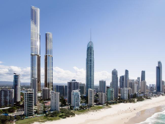 Australia's sky-high construction war
