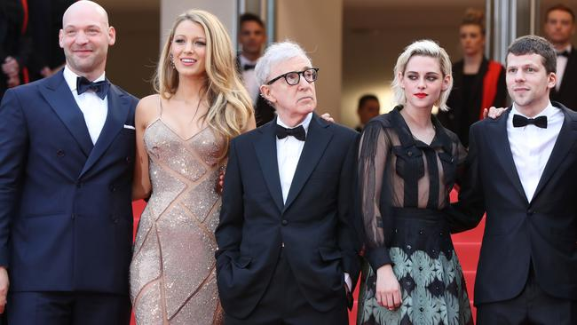 Kristen Stewart went for the sheer look while on the Cannes Film Festival red carpet. Picture: AFP/Valery Hache