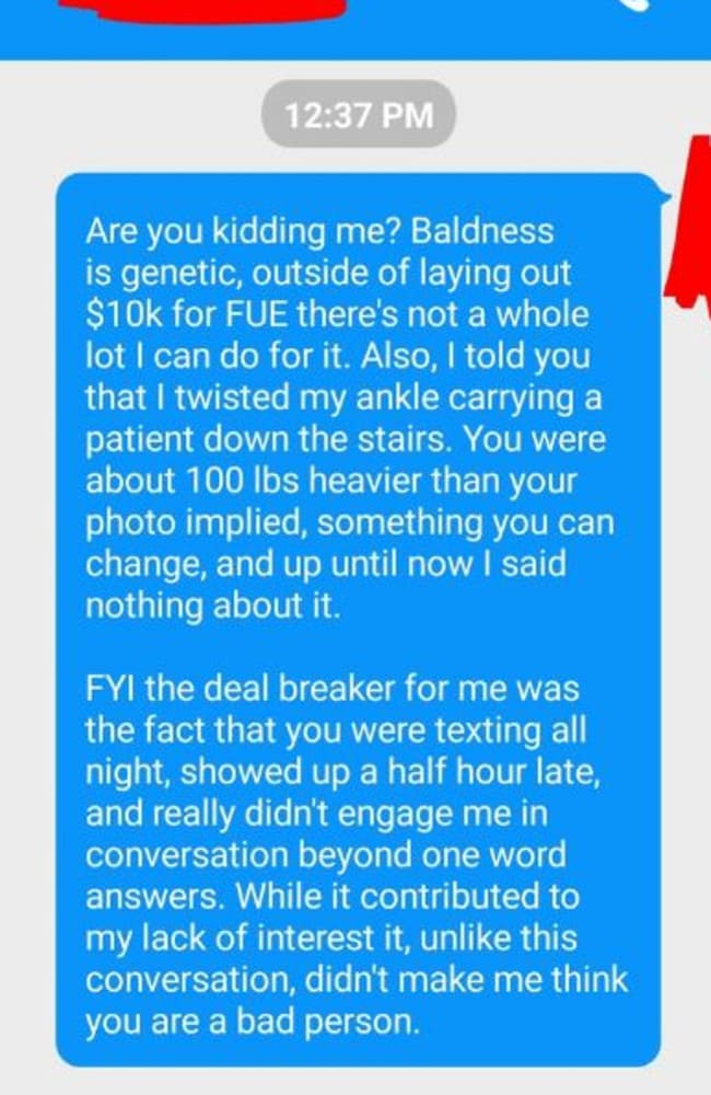 news receives extremely strange unexpected text from girl after date story fdaceacaeafa