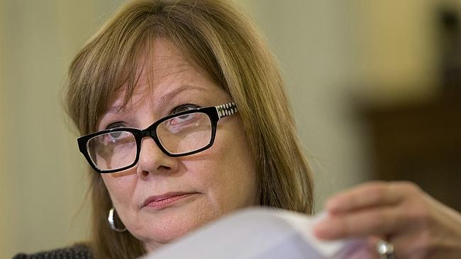 Lifeline ... General Motors CEO Mary Barra's staff have told Holden the Melbourne design centre will remain open beyond 2017. Picture: Pablo Martinez Monsivais