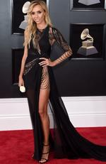 TV personality Giuliana Rancic attends the 60th Annual GRAMMY Awards at Madison Square Garden on January 28, 2018 in New York City. Picture: Jamie McCarthy/Getty Images