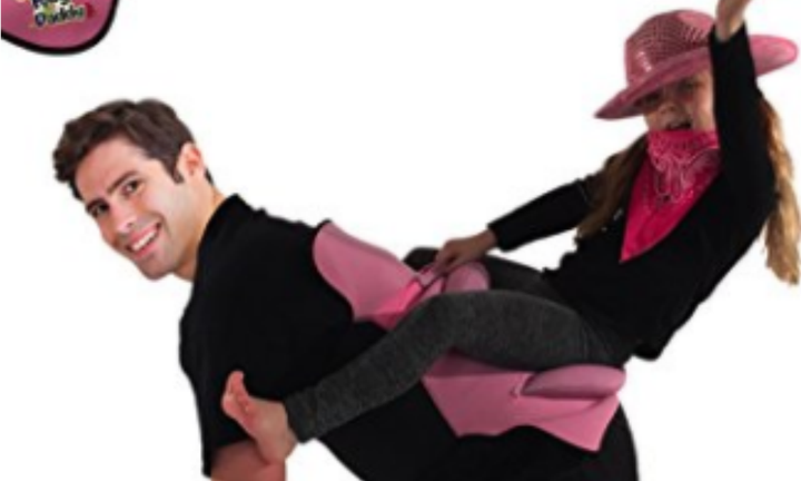 Bizarre 'Pony Up Daddy' saddle lets children 'ride' their parents