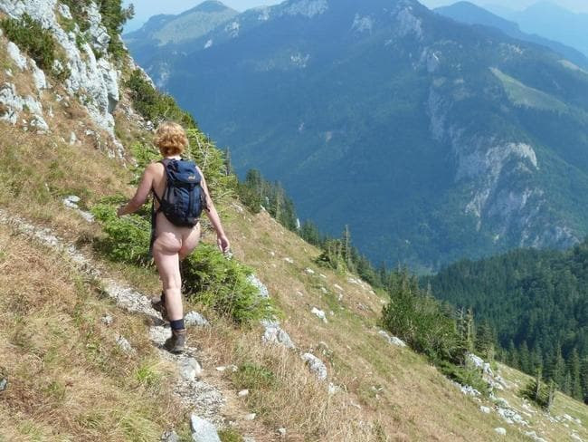 A freeing hike. Picture: Emma James