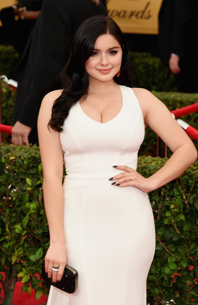 Modern Family actress Ariel Winter opened up last week about her breast reduction surgery. Photo: Ethan Miller.
