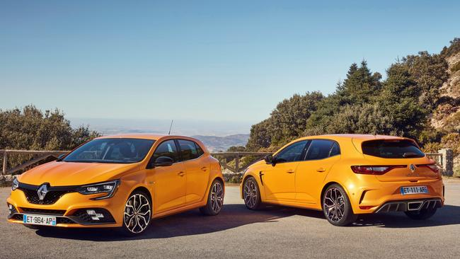 Dearer but with more power and tech: Megane RS will start at about $45K.