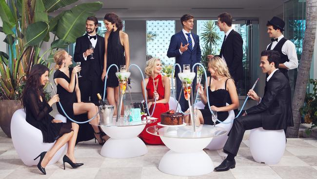 The shisha has become hugely popular in luxury hotels around the world.