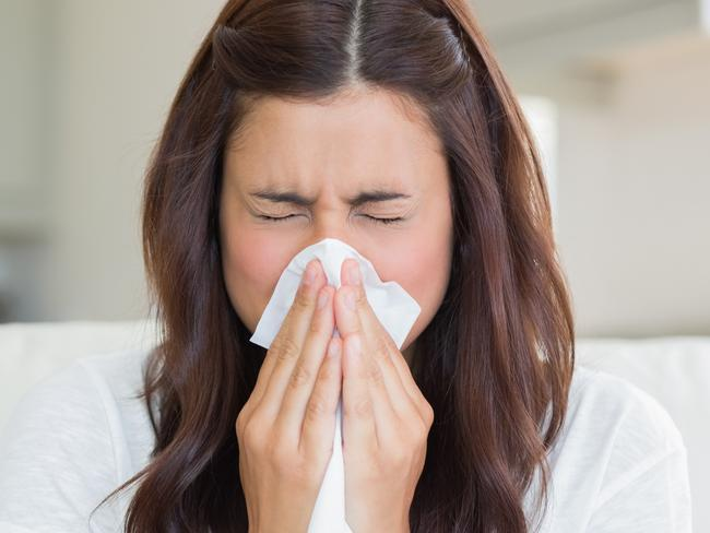 Aussies aren't completely defenceless when it comes to protecting themselves against the flu. Picture: ThinkStock