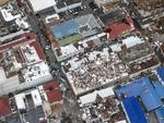This Sept. 6, 2017 photo provided by the Dutch Defense Ministry shows storm damage in the aftermath of Hurricane Irma, in St. Maarten.Picture: Gerben Van Es/Dutch Defense Ministry via AP