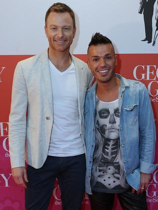 He is married to fellow performer Tim Campbell. Picture: Julie Kiriacoudis