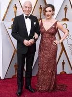 Patrick Stewart and Sunny Ozell. Photo: AP