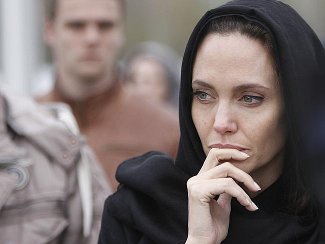 Advocacy ... UN goodwill ambassador Angelina Jolie has called for action against rape as a weapon of war. Picture: AP