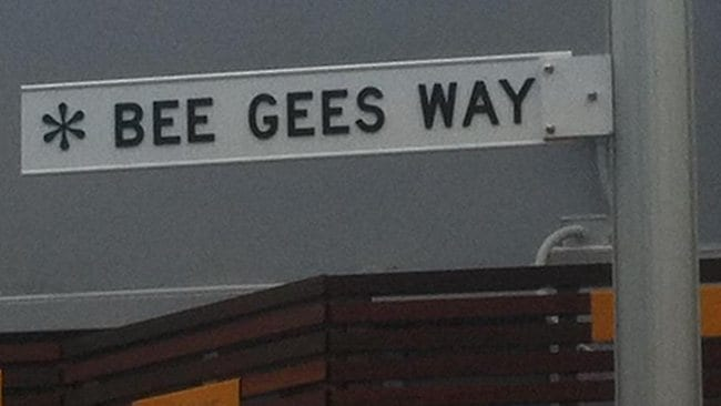 Barry Gibb will open Bee Gees Way in Redcliffe.