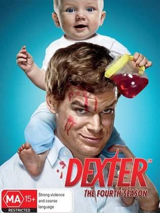 Poster for fourth season ... Michael C. Hall played Dexter.