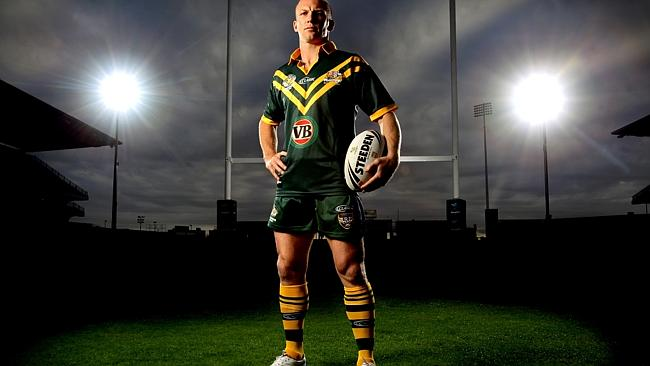 Former Australian Captain Darren Lockyer. Picture: Gregg Porteous.