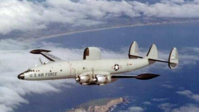 A Lockheed EC-121 aircraft similar to the one shoot down by North Korea on 15 April 1969.