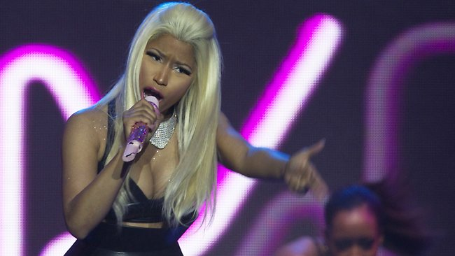 Rapper Nicki Minaj realised during her Australian tour that she wanted to be a mother one day. Picture: AP