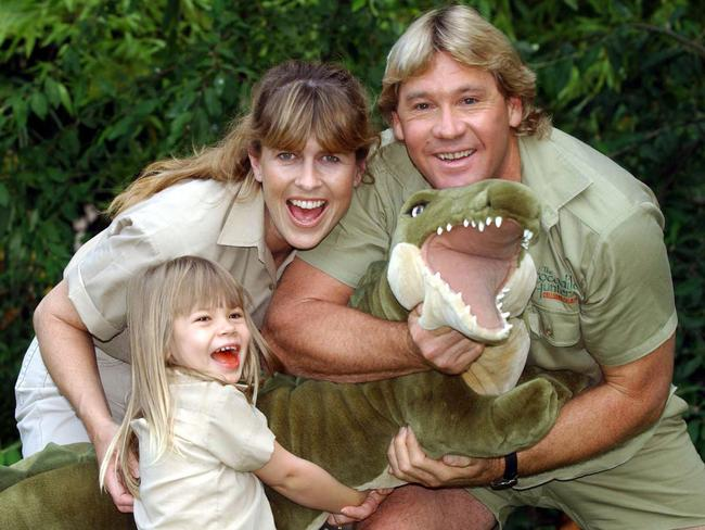 An Irwin family photo from 2002.
