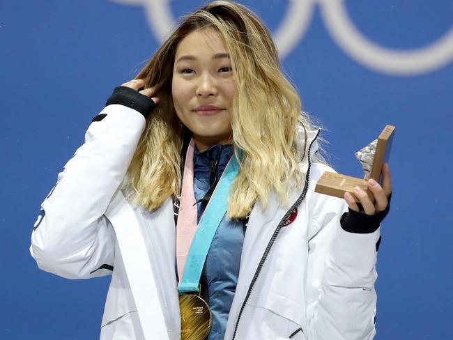 Chloe Kim was the subject of some vulgar remarks.