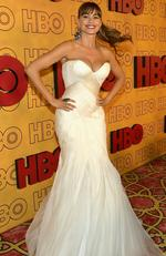 Modern Family actress Sofia Vergara attends HBO's Post Emmy Awards Reception at The Plaza. Picture: Matt Winkelmeyer/Getty Images)=