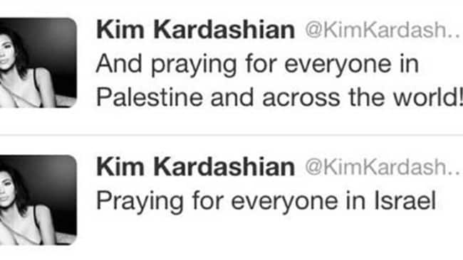 For Four Corners, Middle Eastern Correspondent Kim Kardashian.