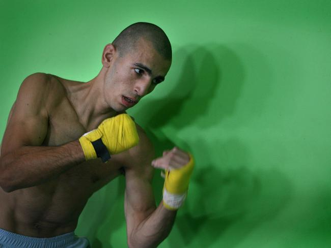 Mohamed Elomar during his boxing peak.