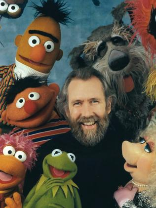 Jim Henson with the Muppets.