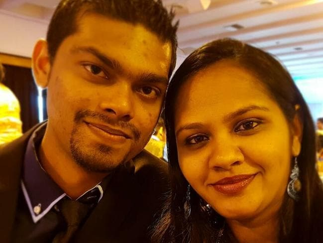 Avneel Ram and Sheetal Ram were described as a friendly couple. Picture: Facebook
