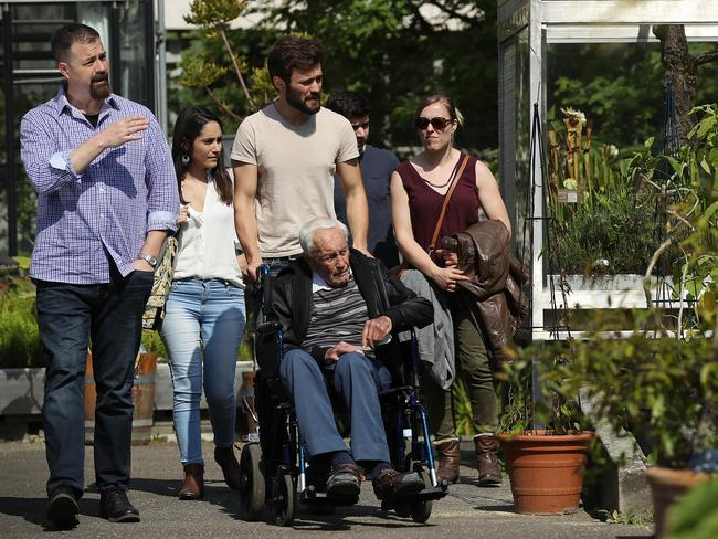 The botanist will have his family by his side. Picture: Sean Gallup/Getty Images)
