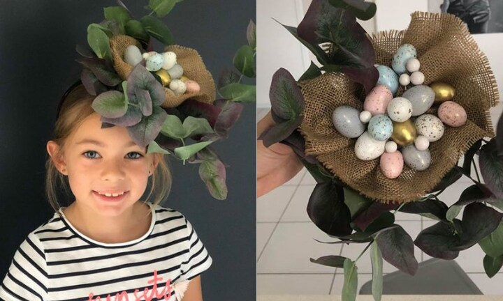 Mum's amazing Kmart Easter hat costs just $15