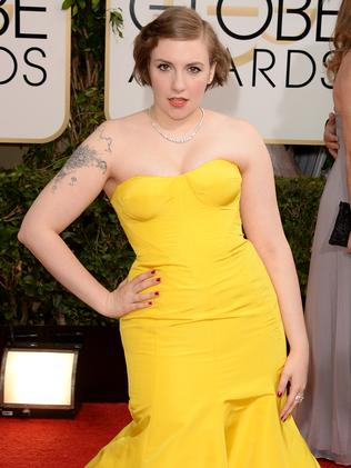 """Lena Dunham was labelled """"fat"""" by Rivers on numerous occasions."""