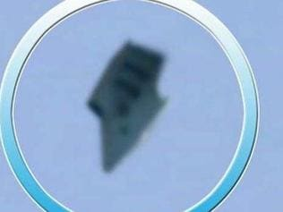 UFO sighting gets the web excited