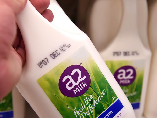 China boosts a2 Milk sales to $525 million