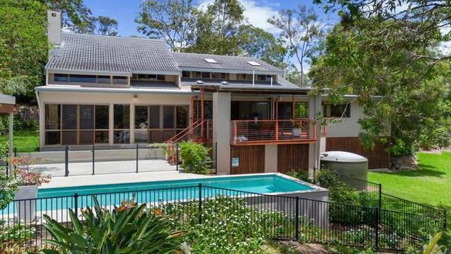 This five bedroom house on a 1,821sq m block in Fig Tree Pocket sold for $1.2m last year.