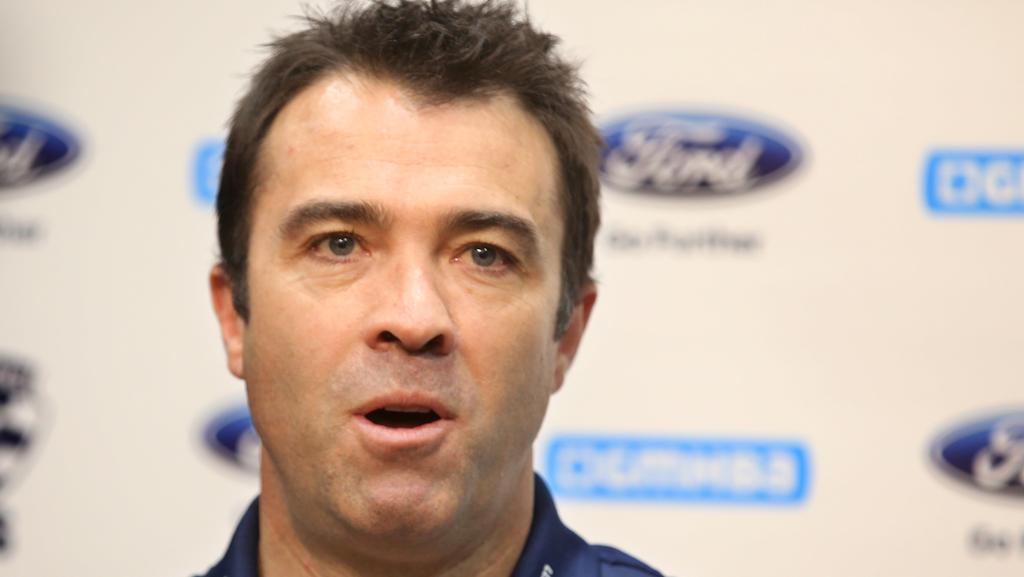 Geelong Cats coach Chris Scott says clubs should have full control of where their home fixtures are played. Picture: Glenn Ferguson