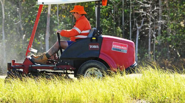 Townsville City Council Mowing