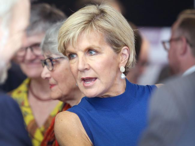 Foreign Minister Julie Bishop says Mr Abbott should explain why he's had a change of heart on climate change. Picture: AAP